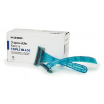 McKesson Disposable Triple Blade Razors