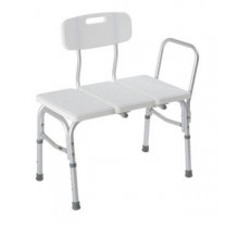 Bathtub Transfer Bench Durable Plastic