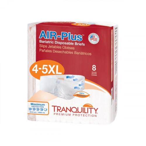 Tranquility Air Plus Bariatric Brief 4-5X-Large