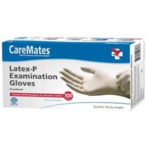 CareMates Latex Exam Gloves Powdered - NonSterile