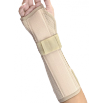 Wrist and Forearm Splint With Perforated Suede