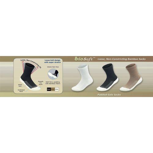padded sole diabetic socks 313