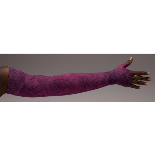 LympheDivas Lovely Lace Compression Arm Sleeve 20-30 mmHg w/ Diva Diamond Band