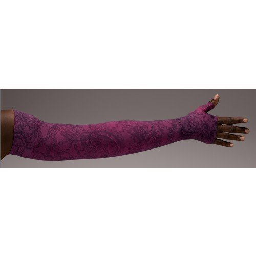 LympheDivas Lovely Lace Compression Arm Sleeve 30-40 mmHg w/ Diva Diamond Band