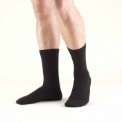 TRUFORM TruSoft Diabetic Crew Length Socks 8-15 mmHg