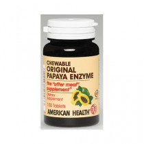 American Health Original Papaya Enzyme Dietary Supplement