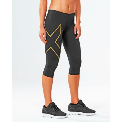 3/4 MCS Thermal Tights, Black/Gold