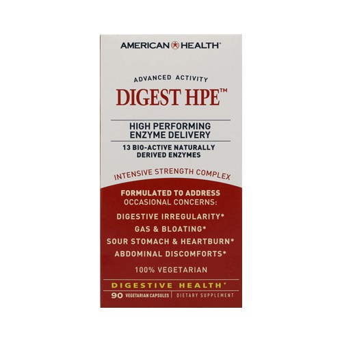 American Health Digest High Performing Enzyme Dietary Supplement