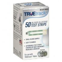 TRUETrack Blood Glucose Test Strips Box of 50 - A3H01-87