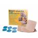 BODY GUARD Hydro Gel Squares - PolyKnit Adhesive, 1 in., 2-3/8 in. - 1603010