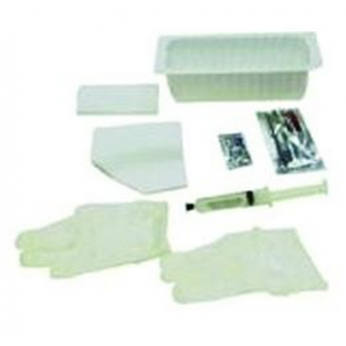AMSure Foley Insertion Tray with 30 cc Prefilled Syringe