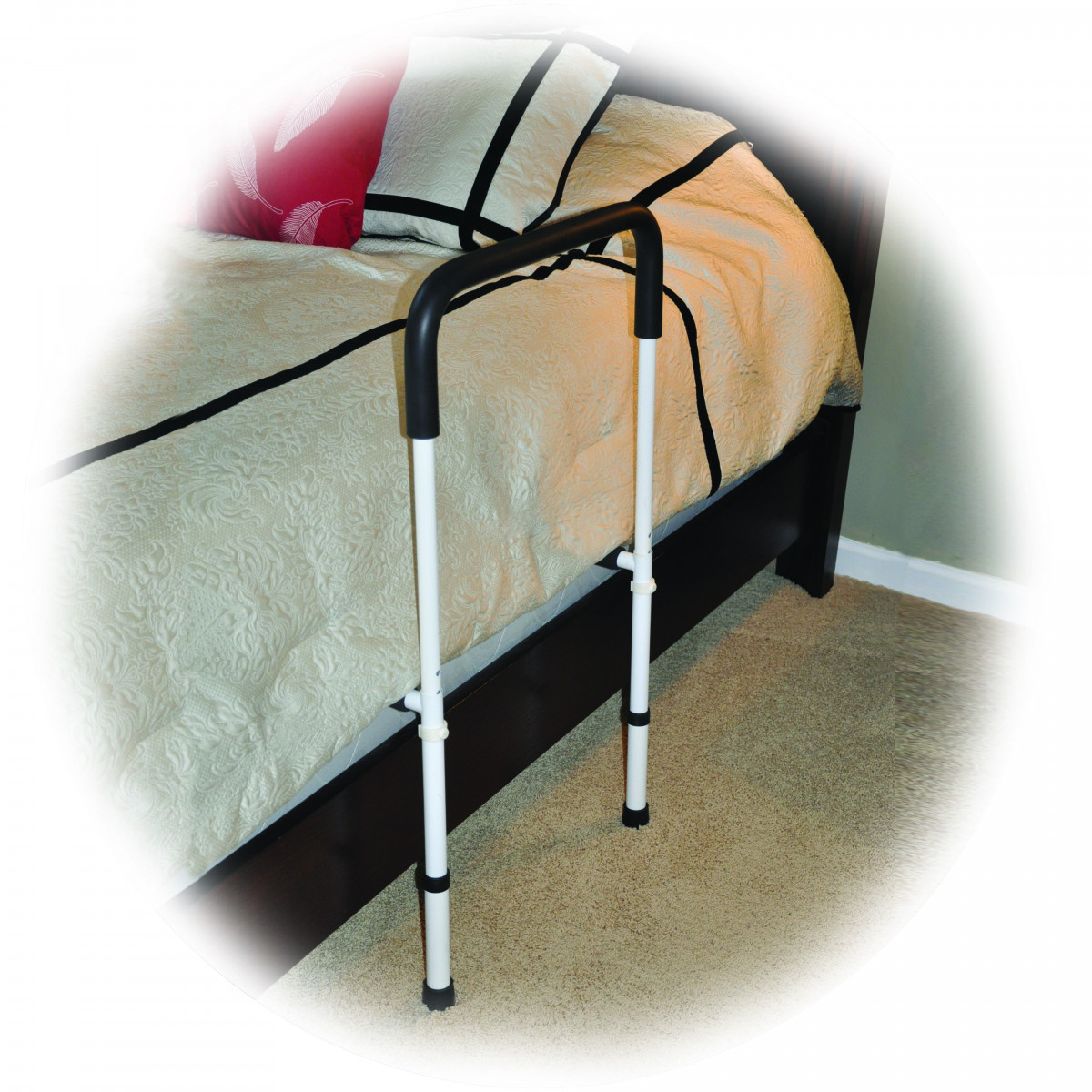 drive home bed assist rail adjustable height 044