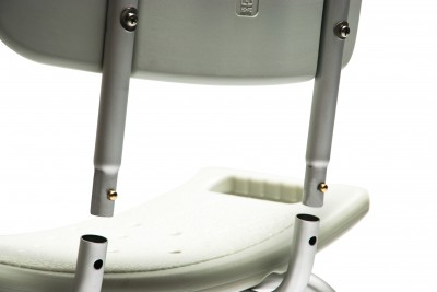 knock down bath seat w backrest 479