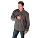 Grey Fleece Heated Jackets For Men