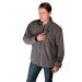 Grey Fleece Heated Jackets For Men