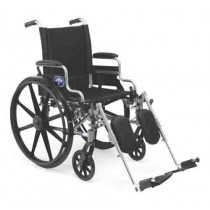 K4 Basic Lightweight Wheelchair with Removable Desk-Length Arms