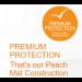 Peach Mat Core Super Plus Liner