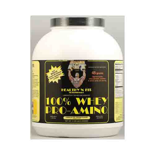 Nutritionals Whey Protein Pro-Amino Powder