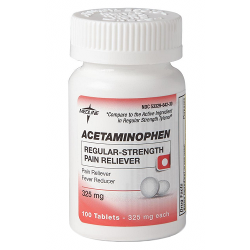 acetaminophen regular strength tablets 682