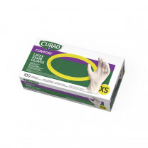 CURAD Powder-Free Latex Exam Gloves, 100 Count