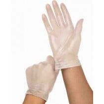 Powder Free Clear Vinyl Exam Gloves