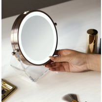 Zadro Two-Sided LED Lighted Vanity Swivel Mirror