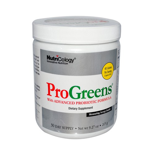 NutriCology Pro Greens With Advanced Probiotic Formula