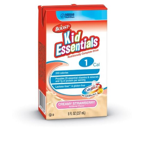 BOOST KID ESSENTIALS 1.0 Strawberry - 8 oz