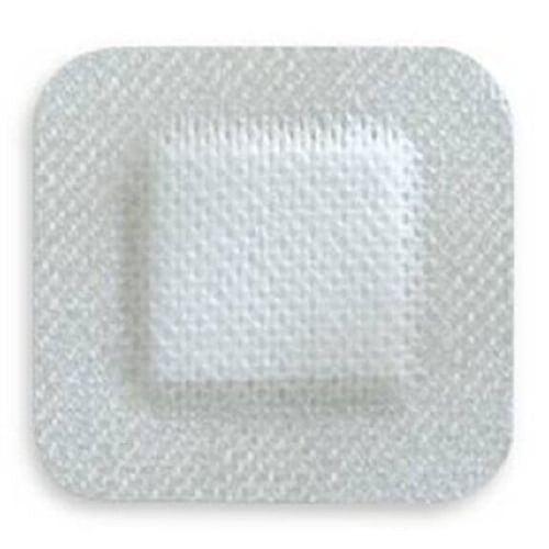 Adhesive Island Dressing NonWoven 4 x 4 Inch - NonSterile
