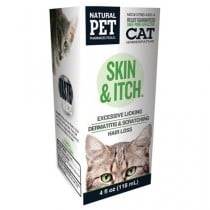 Homeopathic Natural Pet Cat Supplement - Skin and Itch