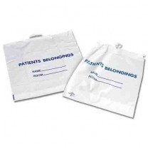 Rigid Handle Patient Belonging Bags