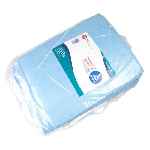 Dynarex Fluff/Polymer Disposable Underpads
