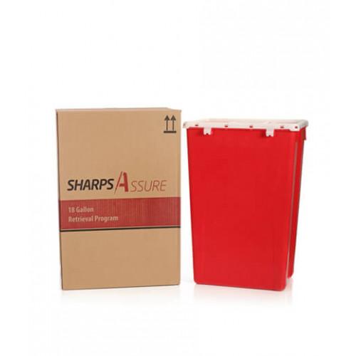Sharps Assure 18-Gallon Retrieval Program