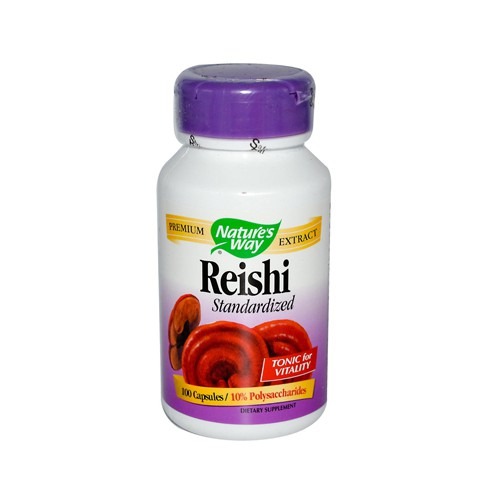 Natures Way Reishi Standardized