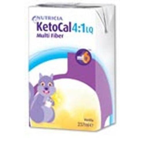 Ketocal 4.1 Ketogenic Liquid Vanilla - 237 mL