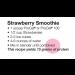 ProCel Strawberry Smoothie Recipe