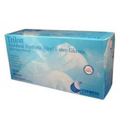 Trilon Vinyl Exam Gloves Powdered - NonSterile