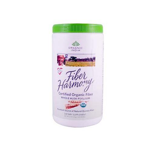 Organic India Fiber Harmony Psyllium Whole Husk
