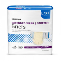 McKesson Extended Wear Briefs - Heavy Absorbency