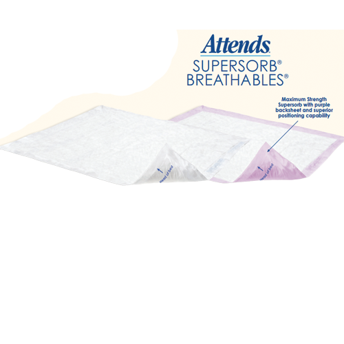 Attends Supersorb Maximum Breathable Underpads Buy Ultra