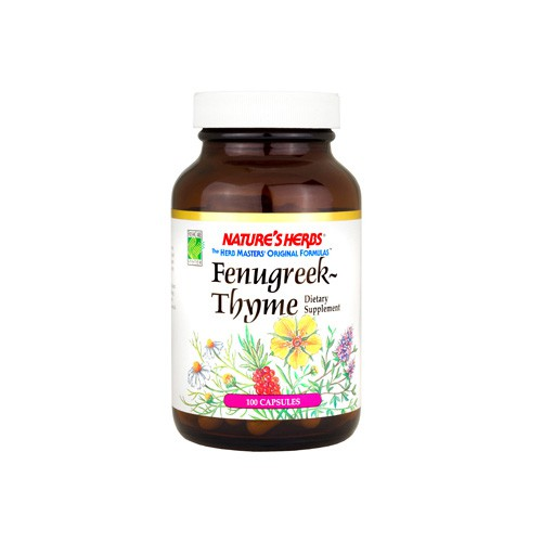 Nature's Herbs Fenugreek Thyme