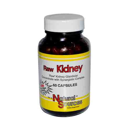 Raw Kidney Glandulars Dietary Supplement