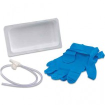 Argyle Suction Catheter Trays with Chimney Valve
