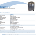 Companion 5 Oxygen Concentrator Specifications