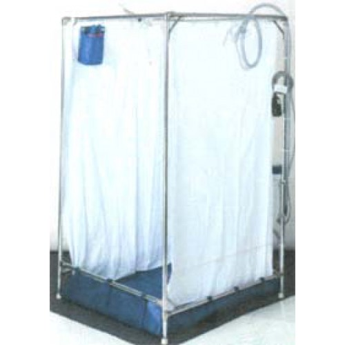 FAWSsit Fold Away Tall Wheelchair Shower