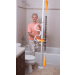 Bath Pole and Grab Bar