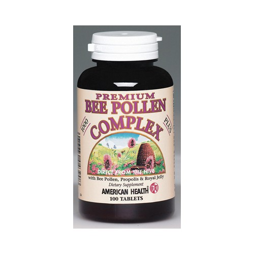 American Health Bee Pollen Complex Dietary Supplement 1000 mg