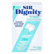 Sir Dignity Fitted Brief Light Absorbency
