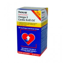 Twinlab Krill Essentials Omega 3 Cardio Krill Oil 625 mg