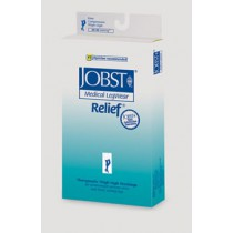 Jobst Relief Thigh High with Silicone Top Band OPEN TOE 20-30 mmHg